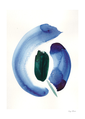 7   | 190816 | Surrender | Abstract Watercolour Painting