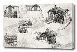 Watermill concept design