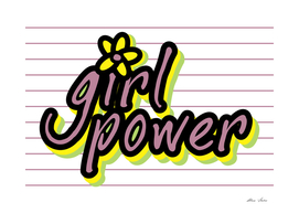 Girl Power, Girly poster, Girly t shirt
