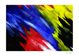 Colorful Brush Strokes