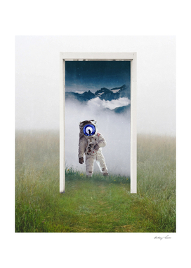Astronaut in the Portal