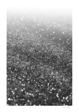 Silver Gray Black Glitter #2 (Faux Glitter - Photography)