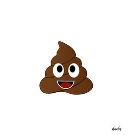 Happy poop smiling