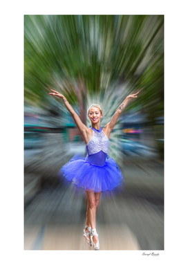 Ballerina in the Park