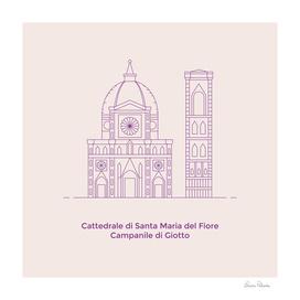 Santa Maria del Fiore and Campanile di Giotto Firenze