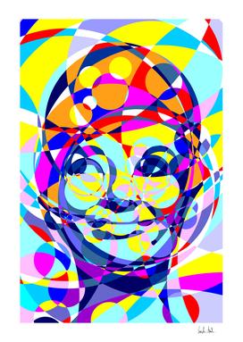 Audrey Colored Circles