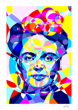Frida Colored Circles