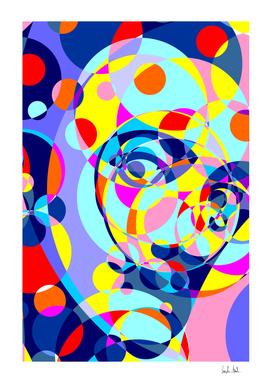 Dali Colored Circles