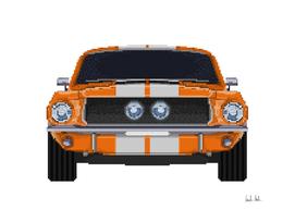 67 Mustang Mosaic