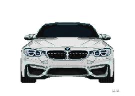 BMW M4 Mosaic