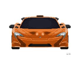 McLaren P1 Mosaic