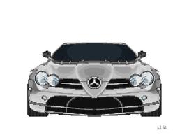 SLR McLaren Mosaic