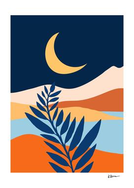 Moonlit Mediterranean