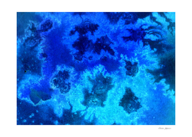 Blue Abstract Ocean Aerial