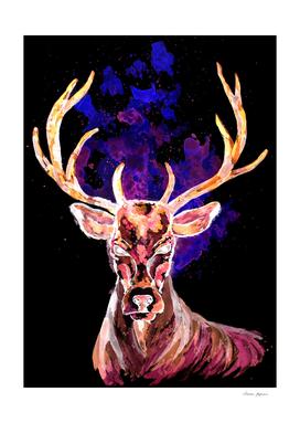 Evil Ghost Deer
