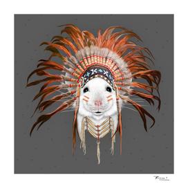 Orange Feather Mouse