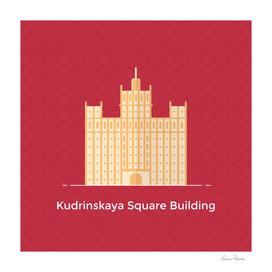 Moscow Kudrinskaya Square Building