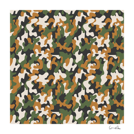 vector seamless military camouflage pattern