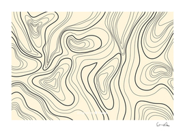 topographic lines background salmon colour shades