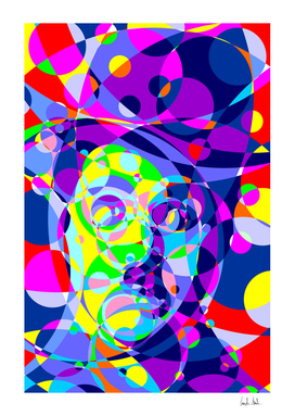 Chaplin Colored Circles