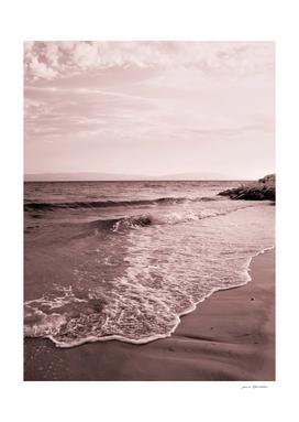 Monochrome beach days seafoam