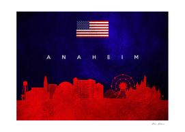 Anaheim California Skyline