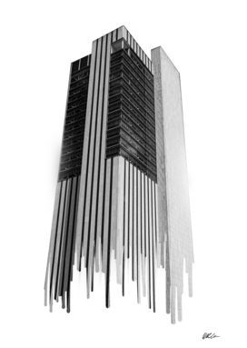 Abstract Skyscraper