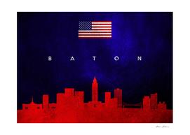 Baton Rogue Louisiana Skyline