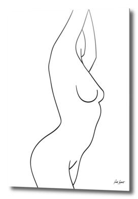 One Line Nude