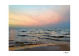 slight variation on pink sunset