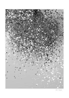 Soft Silver Gray Glitter #1 (Faux Glitter - Photography)