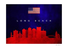 Long Beach California Skyline
