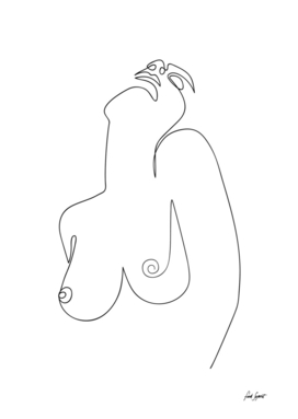 One Line Naked