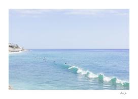 SURFER'S IN MALIBU