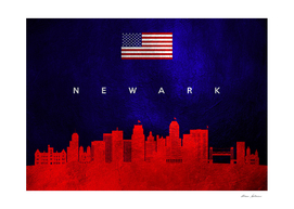 Newark New Jersey Skyline