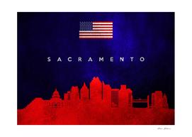 Sacramento California Skyline