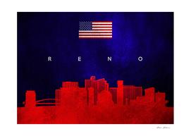 Reno Nevada Skyline