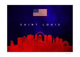 Saint Louis Missouri Skyline