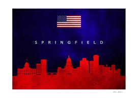 Springfield Illinois Skyline