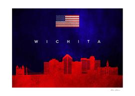 Wichita Kansas Skyline