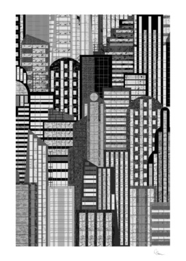 Theme For Great Cities in B/W