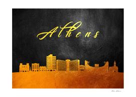 Athens Georgia Gold Skyline
