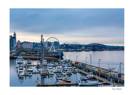 Early Morning on Seattle Waterfront