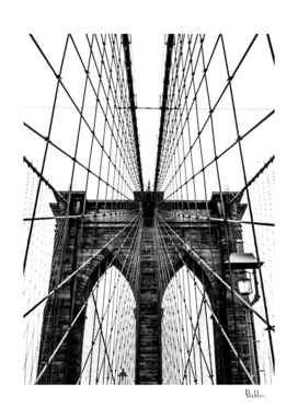 Brooklyn Bridge Web Vertical