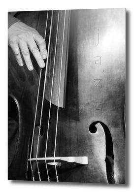 Jazz Bass Poster