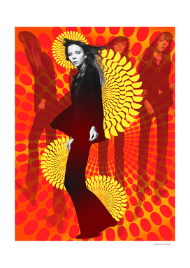 Supermodel Penelope 1 - Supermodels of the Sixties Series