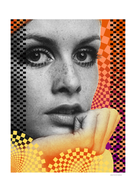 Supermodel Twiggy 2 - Supermodels of the Sixties Series
