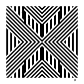 Pattern with striped lines