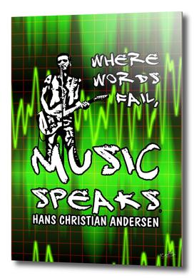 Music Speaks Poster