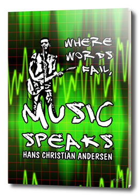 Music Speaks Poster